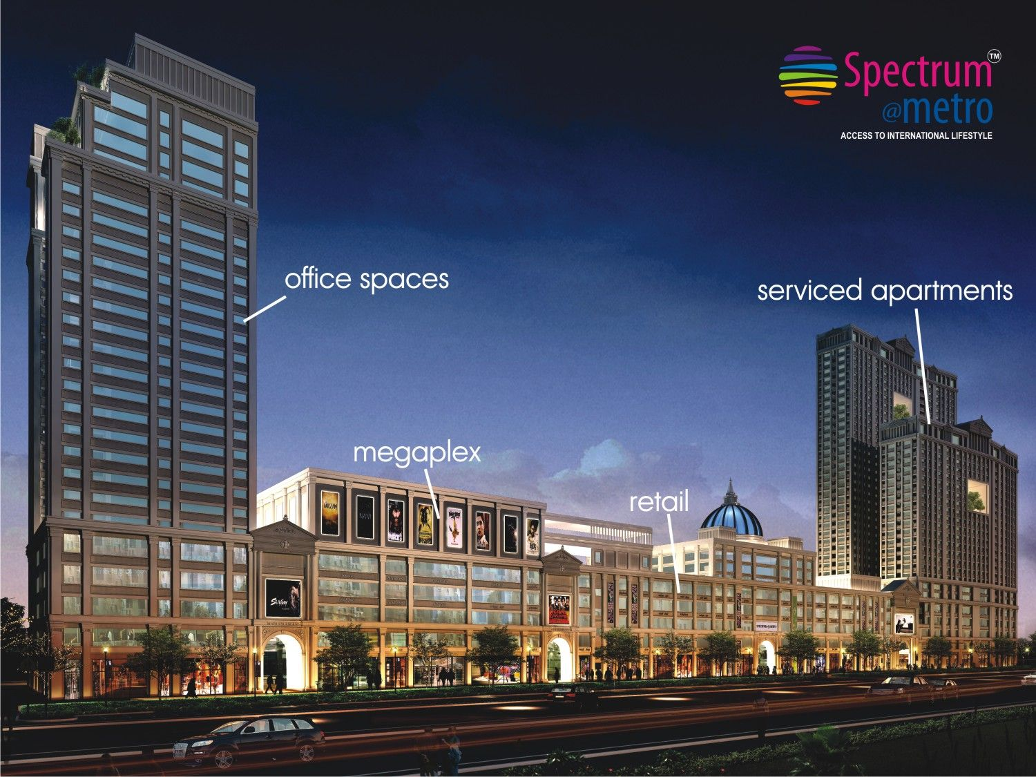 Pin by Realty Acres on Spectrum Metro Retail shop, Cost