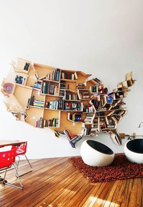 For All Those Who Are Right There With Us Traveling The Country This Is An Amazing Bookshelf