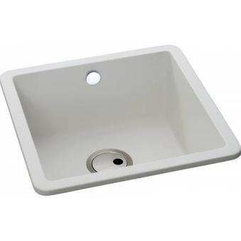 Image for abode matrix sq gr15 single bowl white granite composite image for abode matrix sq gr15 single bowl white granite composite undermount sink workwithnaturefo