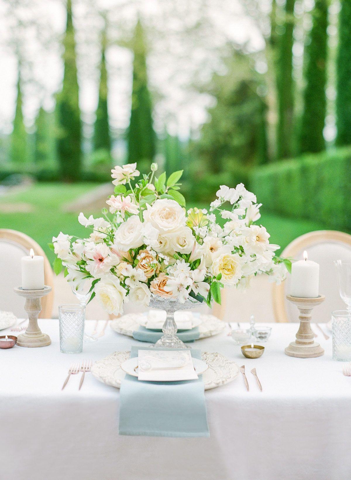 Provence Garden Wedding Inspiration At Chateau De Sannes