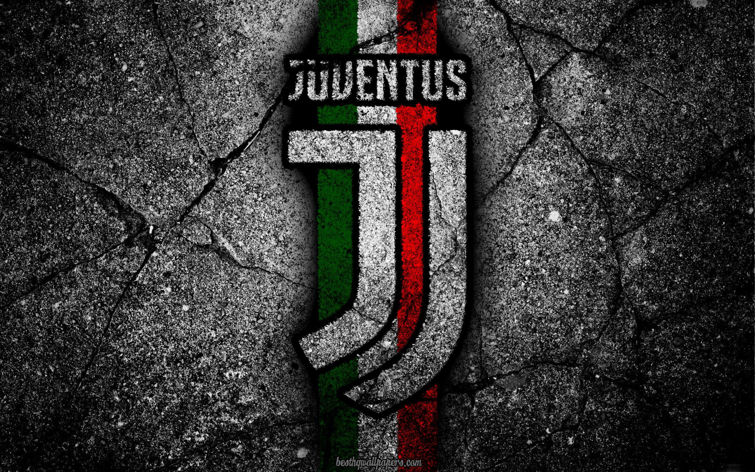 Juventus Stone Texture New Logo Serie A Art New Juventus Logo Juve Soccer Texture De Pierre Juventus Fond D Ecran Foot