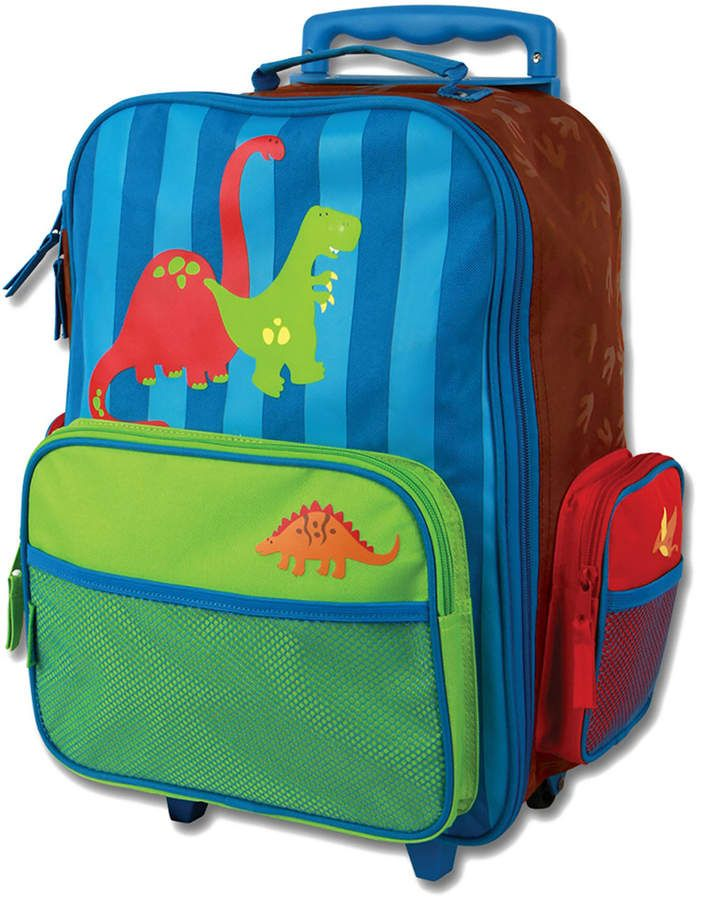 62e401ac253a Stephen Joseph Dino Classic Rolling Luggage