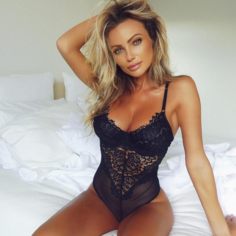 3bb44e99e4e7 Airi Chic New York Women's Sexy Black Corset Bustier Push-Up Lingerie In Lace  Underwire Bodysuit Underwear (Size: S-XL) Do you Want to look sexy for a  loved ...