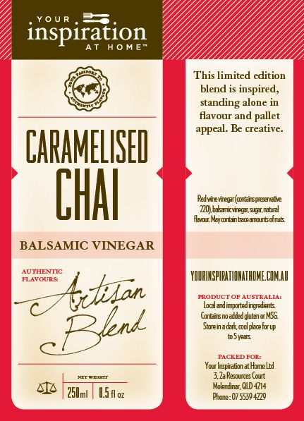 Artisan blend, limited numbered edition  To purchase: http://www.alybrown.yourinspirationathome.com.au/shop-oils-vinegars.php