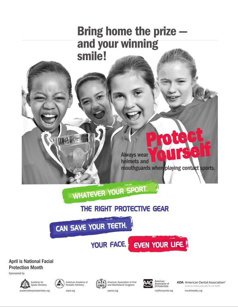Blog Mouth guard, Kids health, American dental association