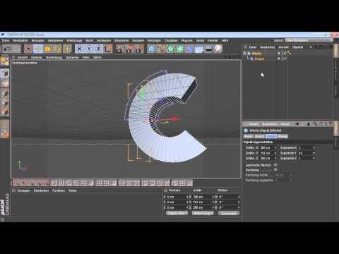 [5.2.1] Modellieren mit Deformern - Grundlagen der Deformer (C4D-Video-Training) - YouTube