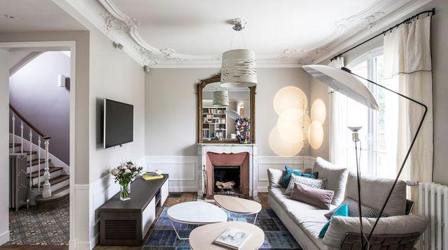 Maison familiale en Yvelines  180 m2 rénovés Interiors and