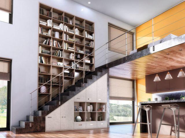 Dix id es pour optimiser l 39 espace sous un escalier for Cuisine sous escalier