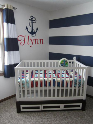 Nautical Nursery on Pinterest | Nautical Nursery, Nautical Nursery ...