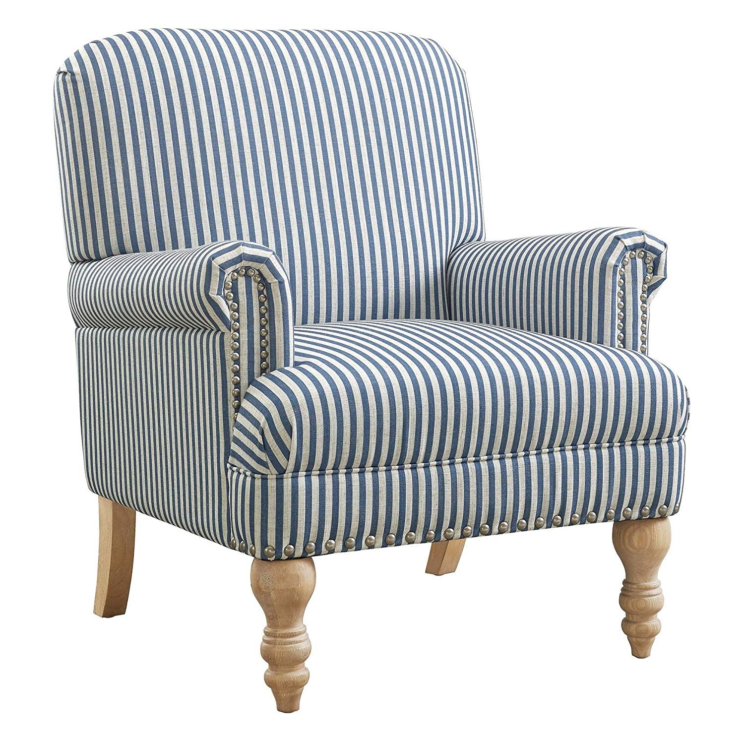 I Am Trying To Decide If This Chair Would Match This Post May Contain Affiliate Links If You Deci Blue Accent Chairs Living Room Furniture Chairs Furniture
