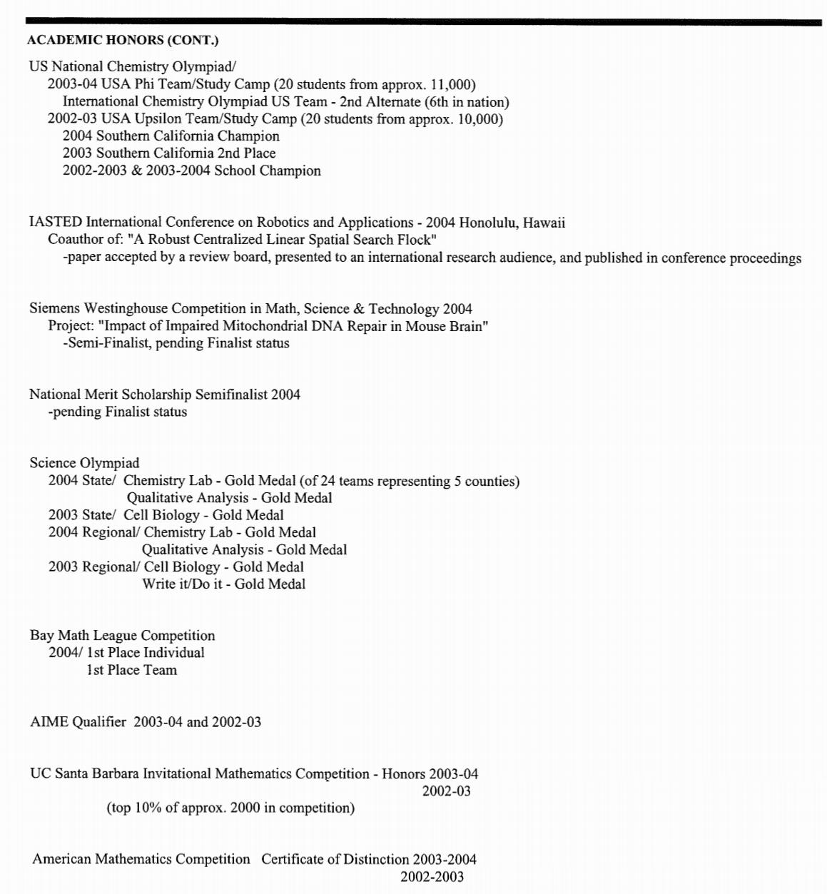 harvard application essay