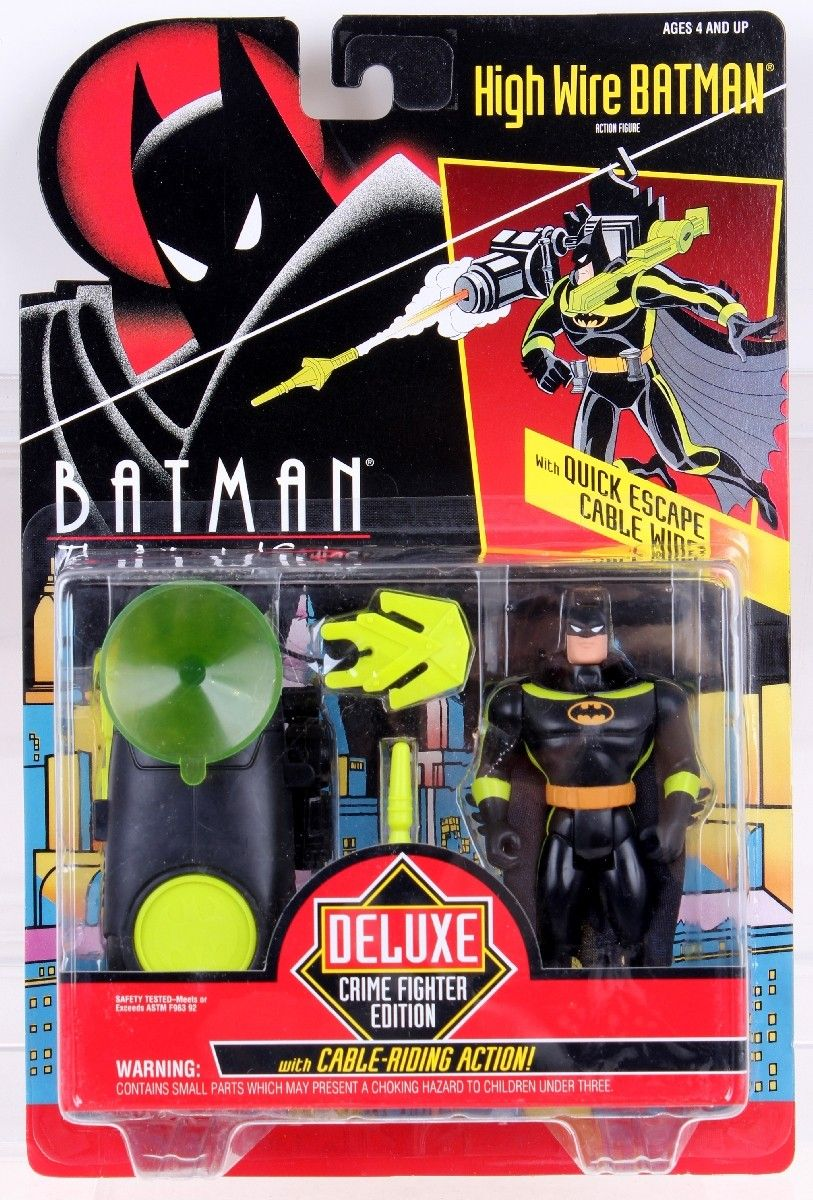 Wave 3 Batman Animated Series High Wire Batman With Quick Escape