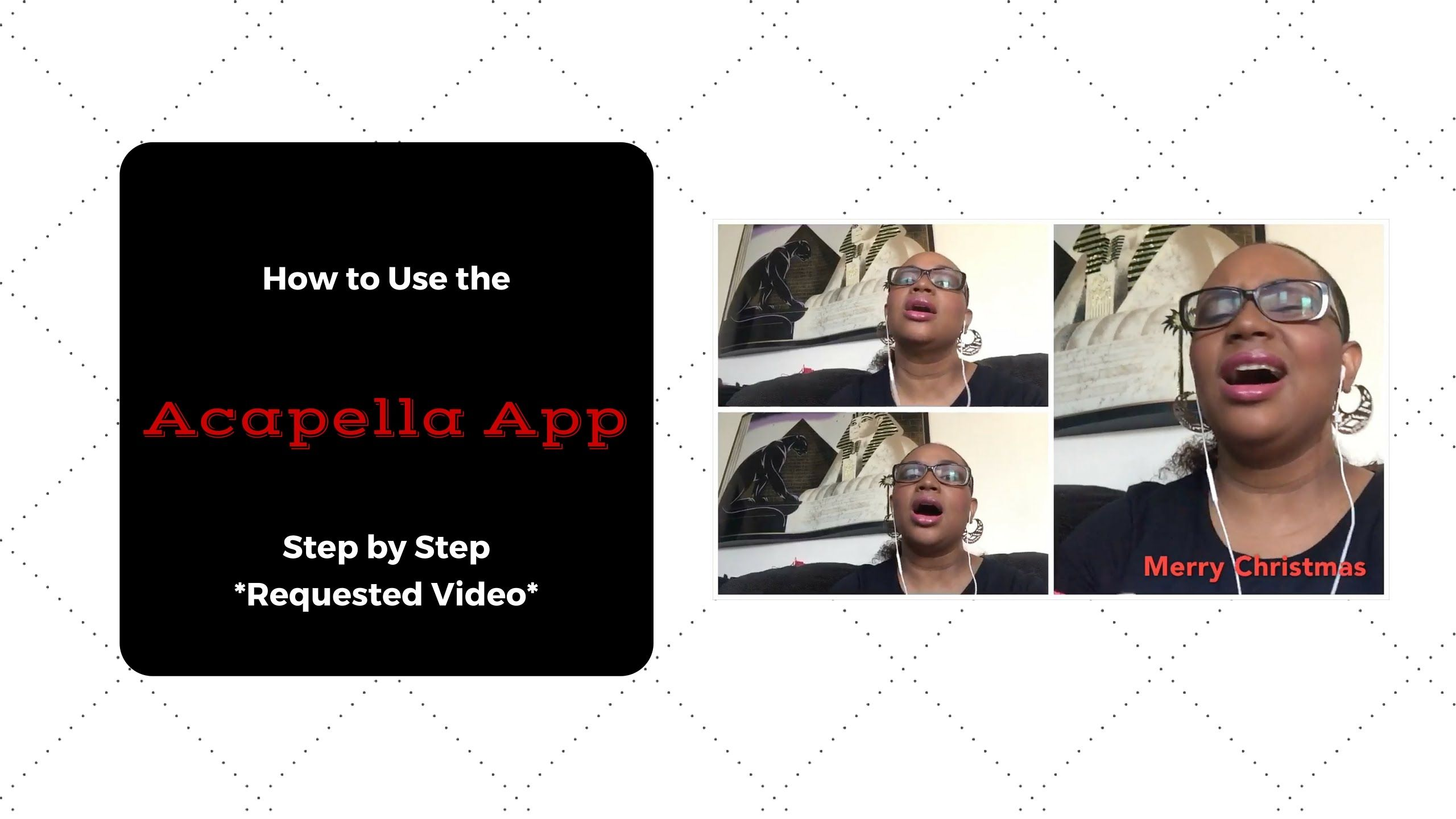 How to Use the Acapella App Step By Step *Requested Video