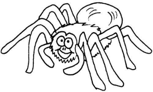 Spider Coloring Page | Kids Coloring Pages | Pinterest