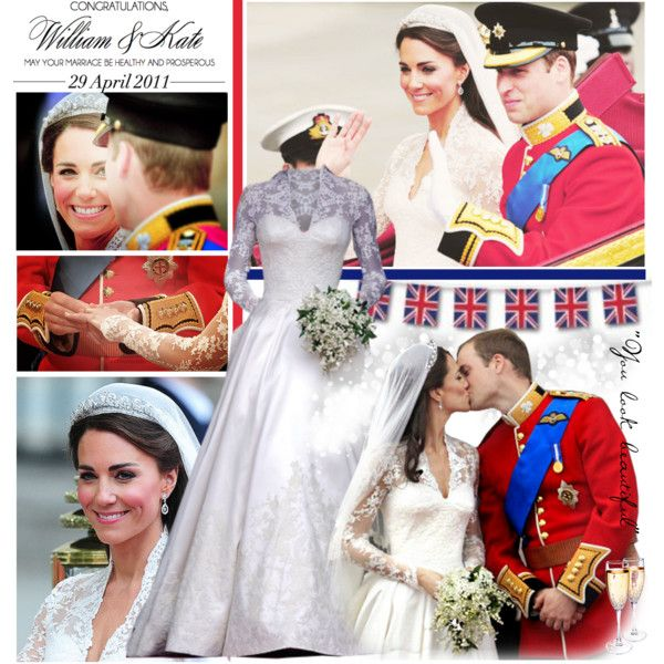 William and Kate! :) by ireallylikeyourface on Polyvore featuring Valentino