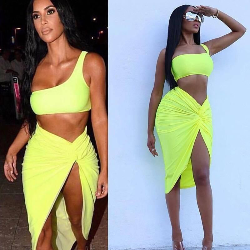 11f453b13fc3c Victoria Two Piece | Two Pieces | Skirts, Dresses, Celebrity dresses