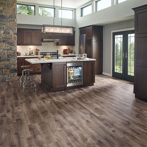 Laminate Flooring Warm Grey Oak Natural