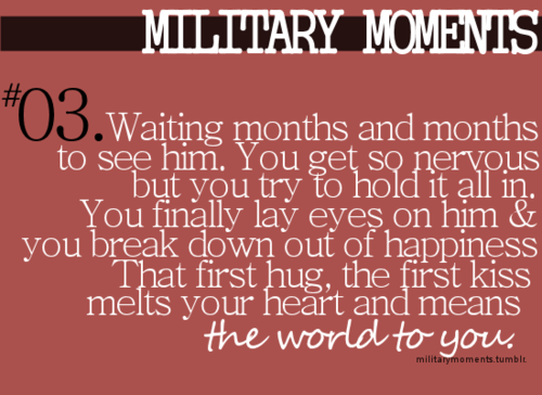 I\'m just starting out in a military relationship but already the ...