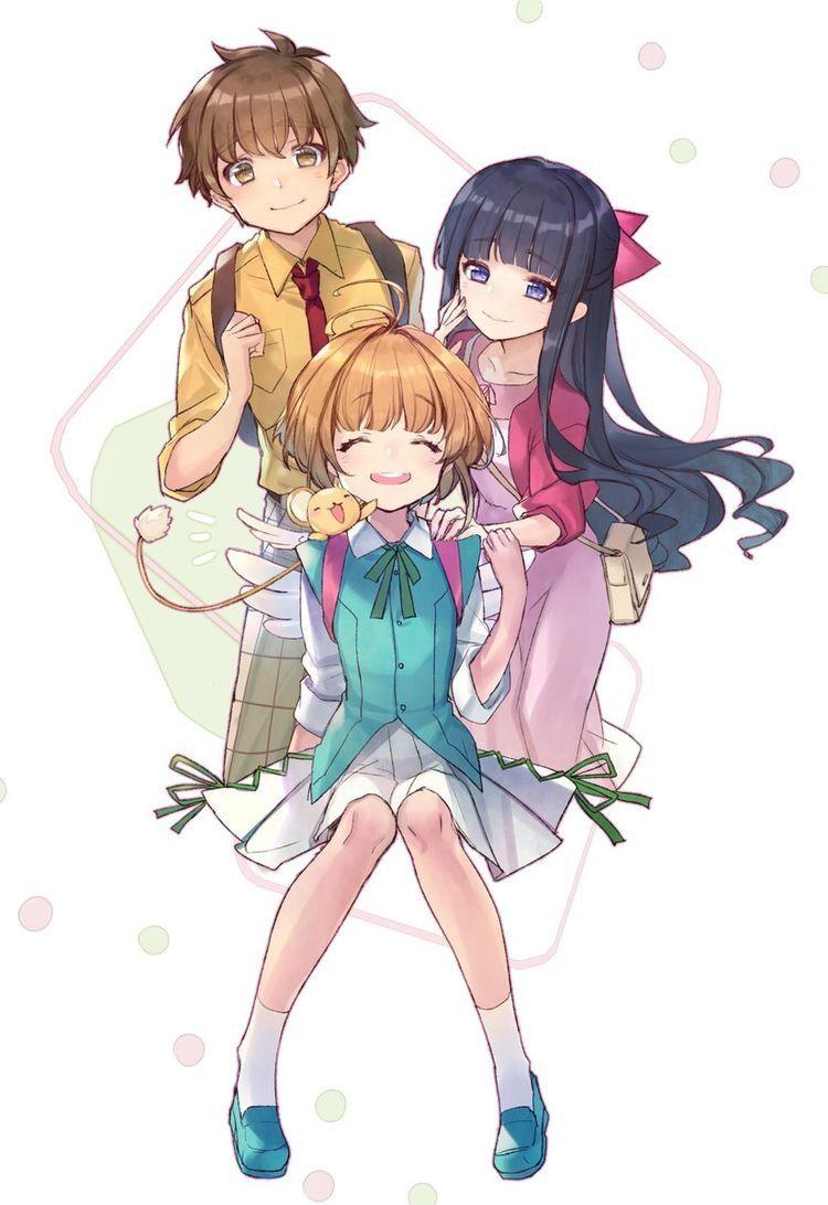 Sakura, Tomoyo and Syaoran