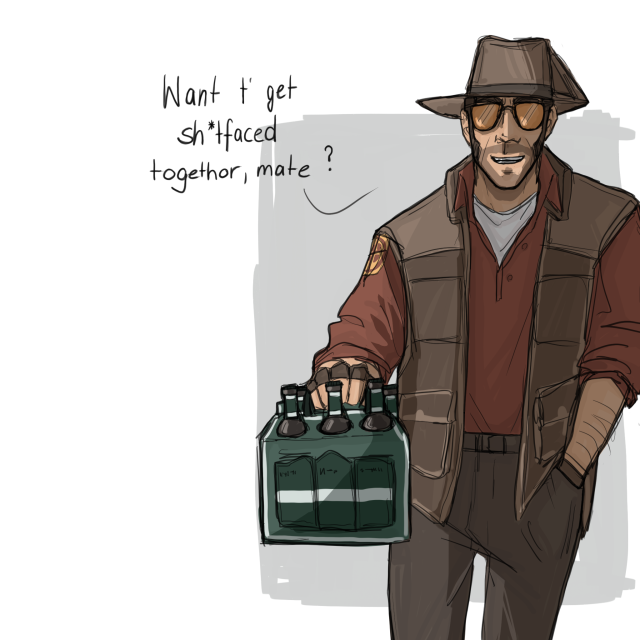 Tumblr Is A Place To Express Yourself Discover Yourself And Bond Over The Stuff You Love It S W Team Fortress 2 Medic Team Fortress 2 Sniper Team Fortress 2