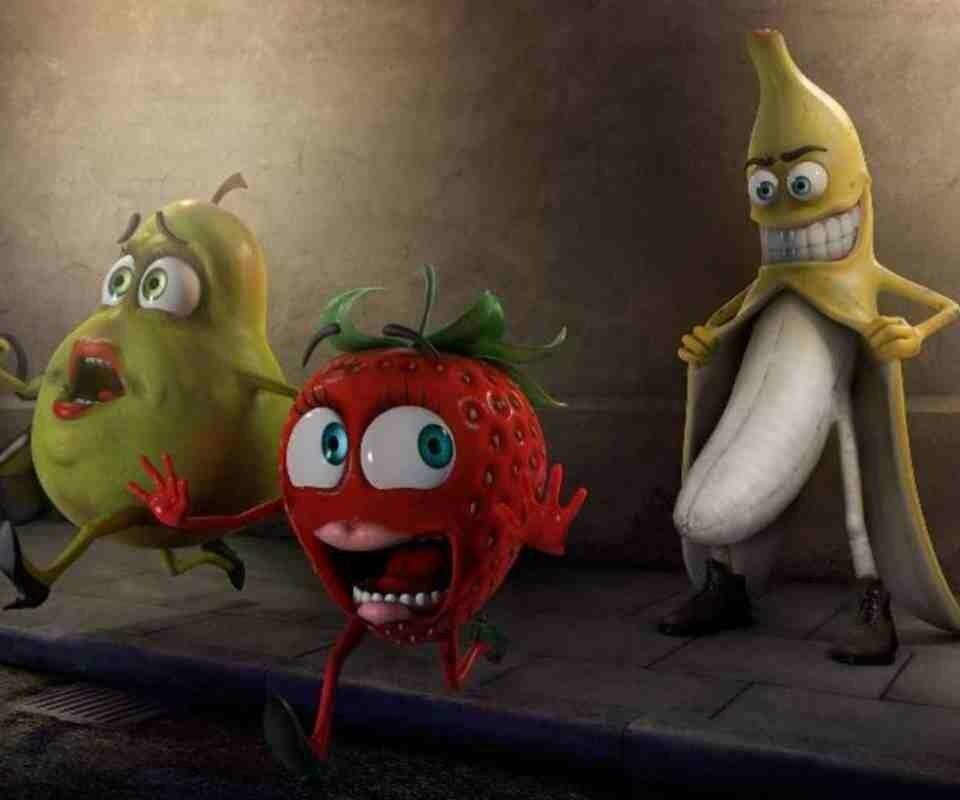 jajajaja! Cuidado con el plátano!