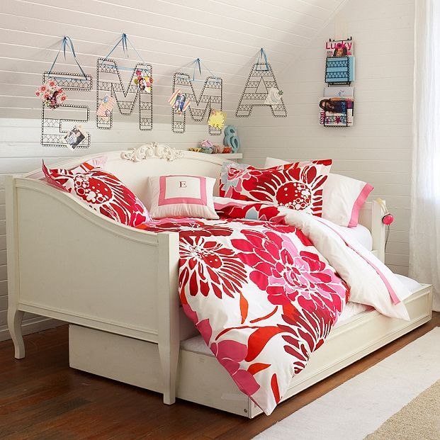 Teen dorm room