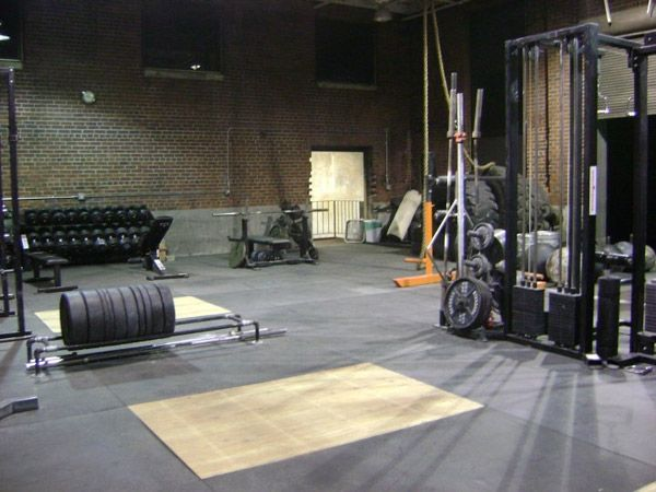 Pretty bad ass crossfit box garage gym inspirations