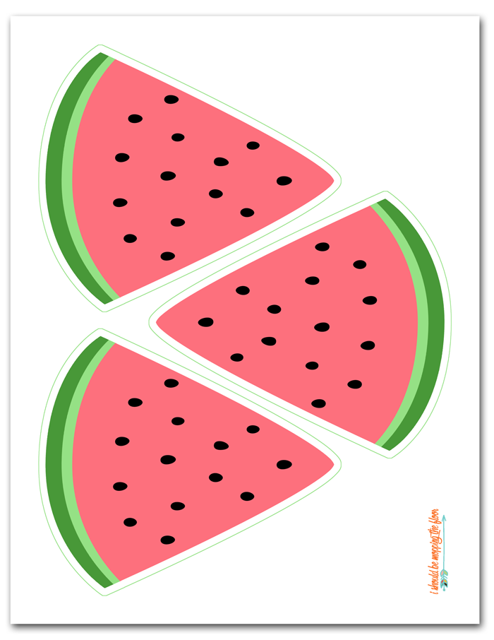 photo about Watermelon Printable identified as No cost Printable Watermelon Banner Estelles 1st Birthday