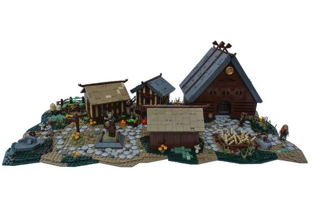 Don't Step On the LEGOs — (via It's not grim up North, in fact this village...
