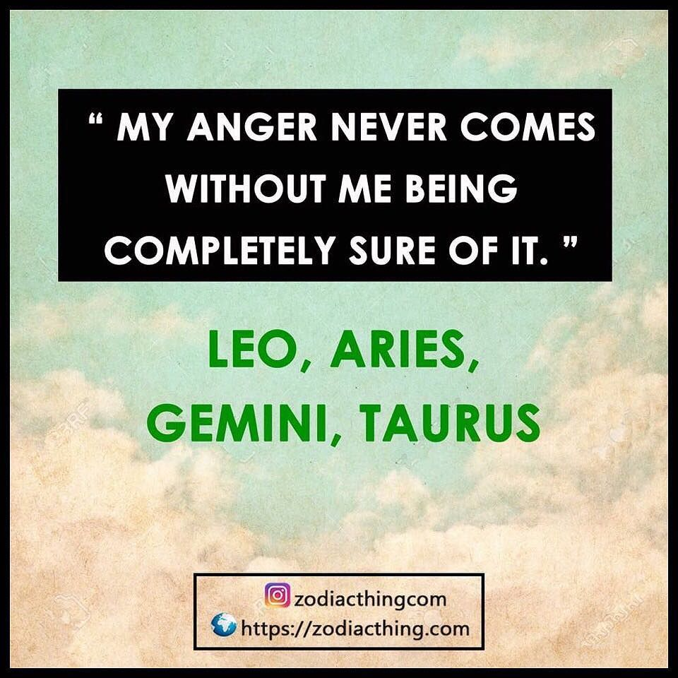 The best anger management squad #aries #aries #taurus