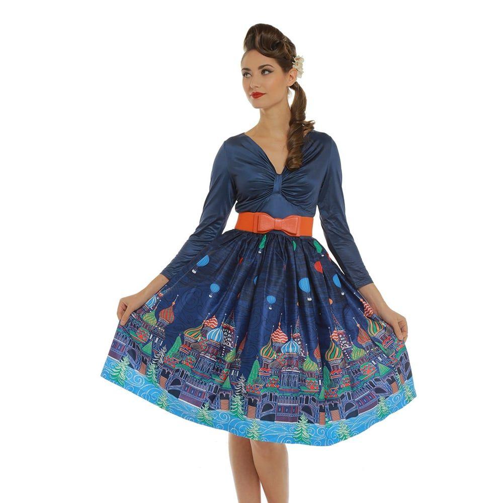 Audrey hepburn style swing dress uk