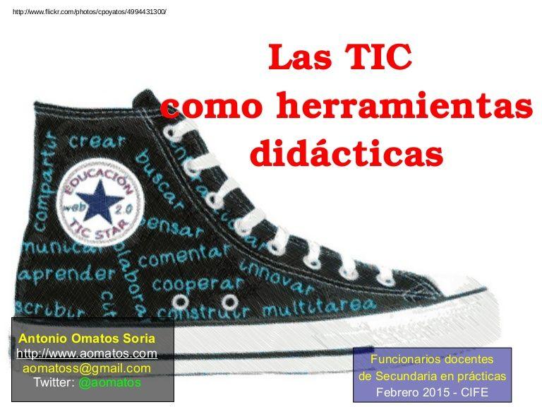 Presentaci n usada en la charla las tic como herramientas for Funcionarios docentes en el exterior