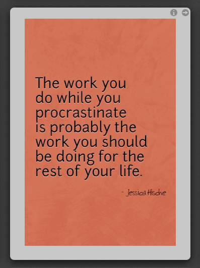 the work you do....