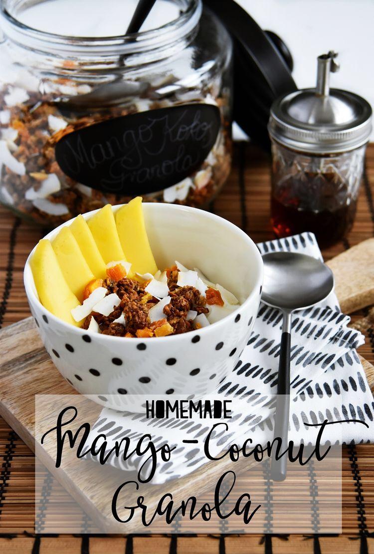 Breakfast Club   Mein Rezept für selbstgemachtes Mango-Kokos Knuspermüsli