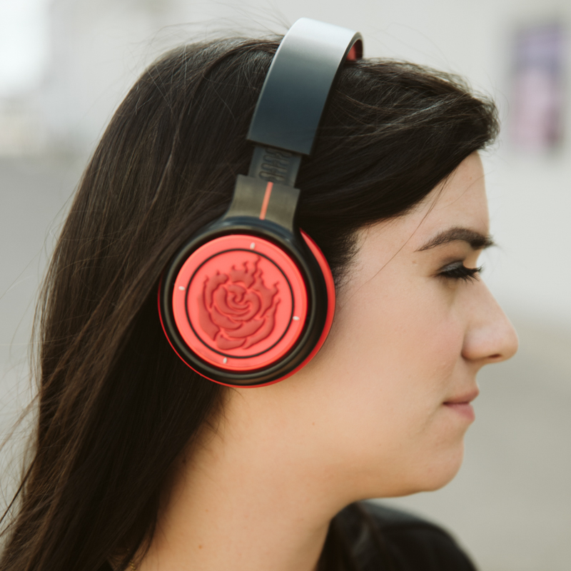 RWBY Ruby Rose Bluetooth Headphones Headphones, Rwby