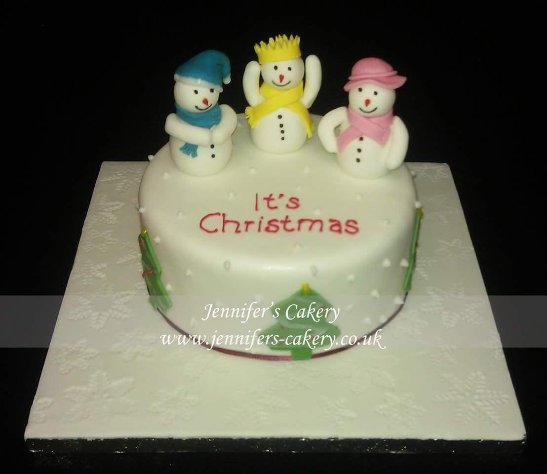 Christmas cake -By Jennifer's Cakery