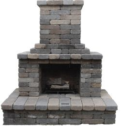 Fireplace Semplice Outdoor Kit