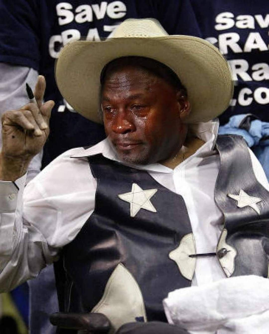 Cowboy fans be like..... cryingjordan cryingjordanface