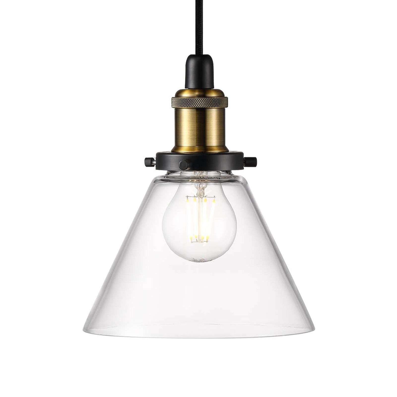 Hanglamp Zwart Staal Witte Hanglamp Gouden Binnenkant Hanglamp Wit Met Goud Kleine Glazen Hanglampen Hanglamp Zwart Hanglamp Lampenkap Hangende Lichten