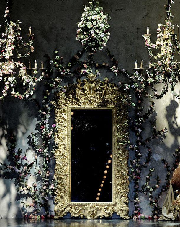 Runway for Dolce & Gabbana Autumn/Winter 2012