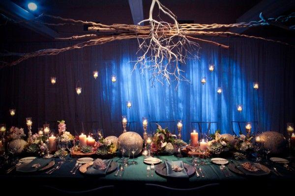 Modern ocean theme wedding centerpiece ocean themes wedding modern ocean theme wedding centerpiece junglespirit Images