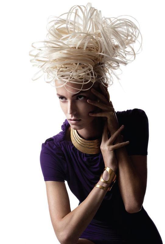 Photography: Luis Alvarez for Aquage;   Hair: Shelly Devlin for Aquage;  Makeup: Wanda Alvarez;   Fashion stylist: Patric Chauvez