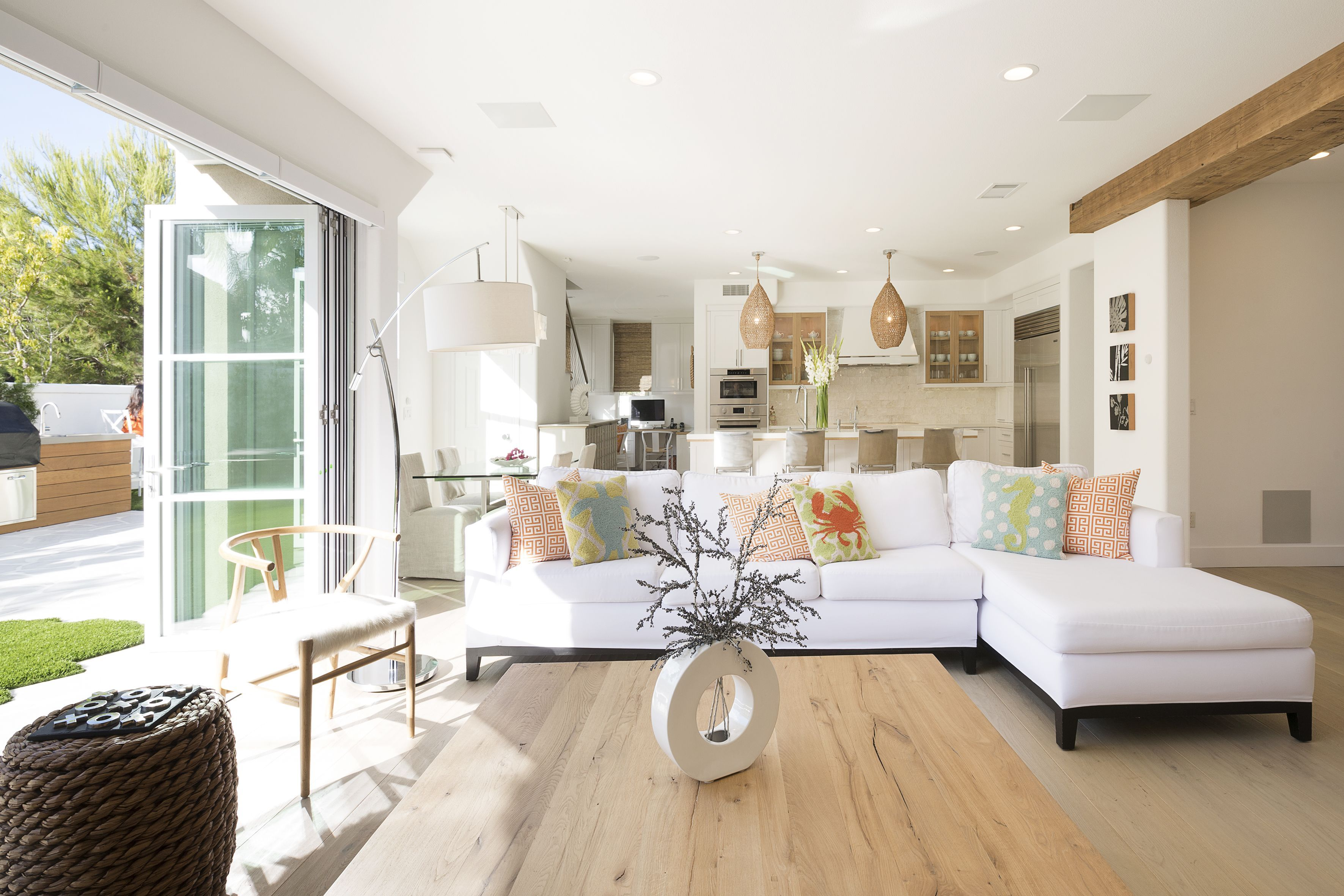 An Organic Modern California House California Homes Living Room Trends Home