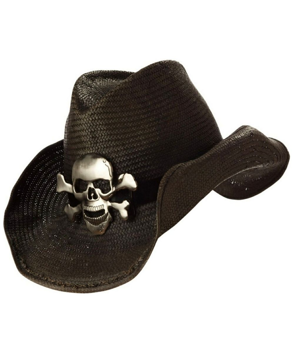 b824cf86d 40 Awesome black leather cowboy hat images | Stuff to Buy | Black ...
