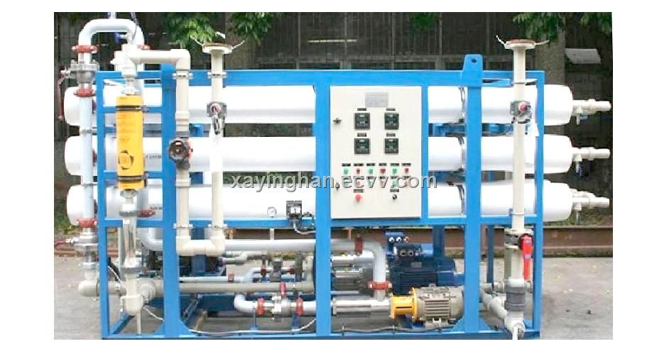 Yinghan Sea Water Reverse Osmosis Systems China Sea Water Desalination System Reverse Osmosis System Green Transportation Renewable Energy Wind