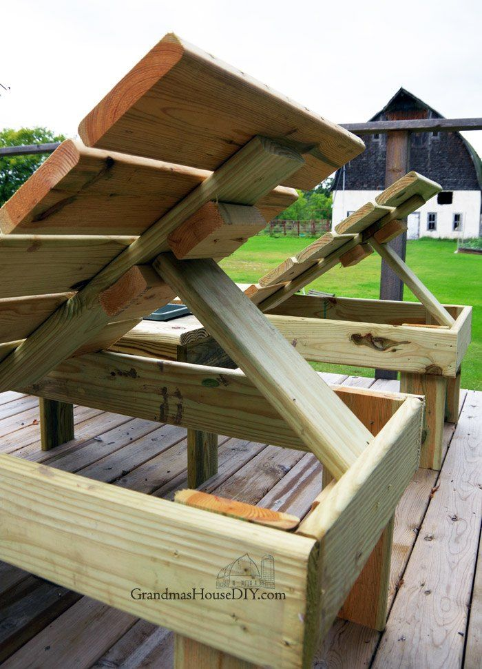 Outdoor Sun Loungers Wood Working Project!