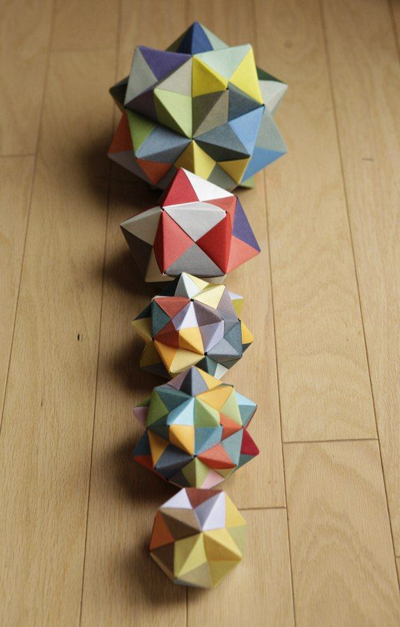 Origami Stellated Octahedron (Side) by TheOrigamiArchitect on ... | 903x576