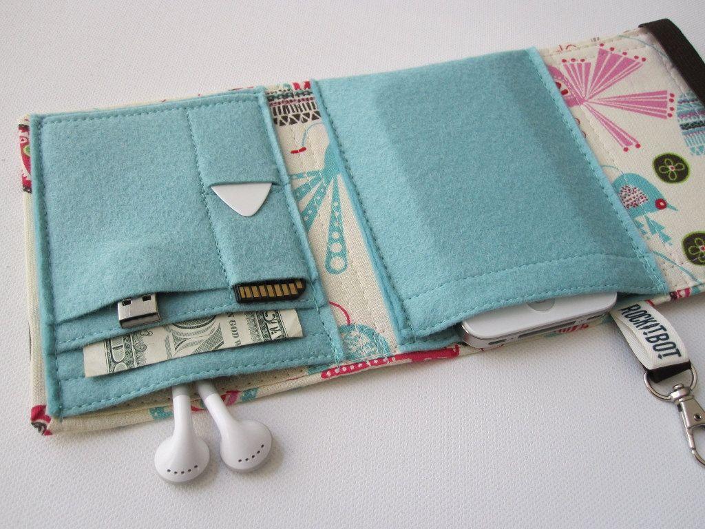 gadget wallet for iPod | jigili | Pinterest | Börse, Selber nähen ...