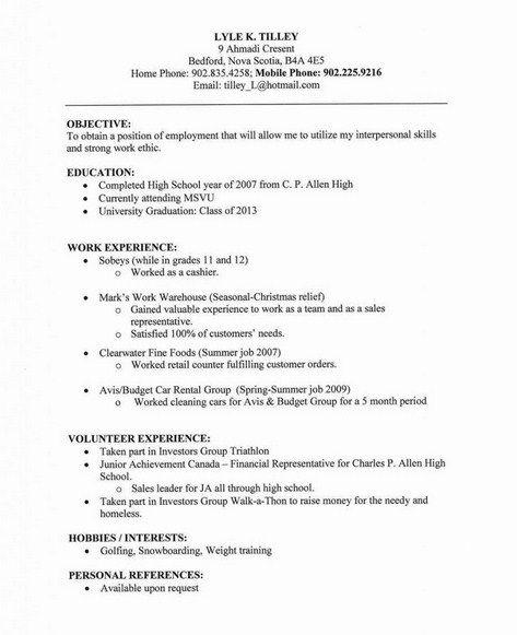 Plain Text Resume Format Get Free Resume Templates Job Resume Examples Job Resume Samples Job Resume Format