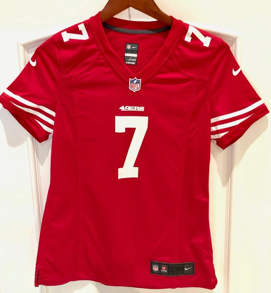 San Francisco 49ers NFL Red Nike Jersey Colin Kaepernick  7 Women s Size  Medium   7.99 (0 Bids) End Date  Saturday Nov-24-2018 16 59 07 PST… c29ff026f